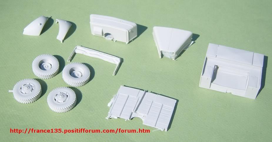 Latil M7T1. Azimut Productions, ref 35044. 1/35. Kit résine et photodécoupe. LATILM7T1AZIMUT1-35_06