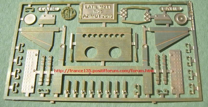 Latil M7T1. Azimut Productions, ref 35044. 1/35. Kit résine et photodécoupe. LATILM7T1AZIMUT1-35_13