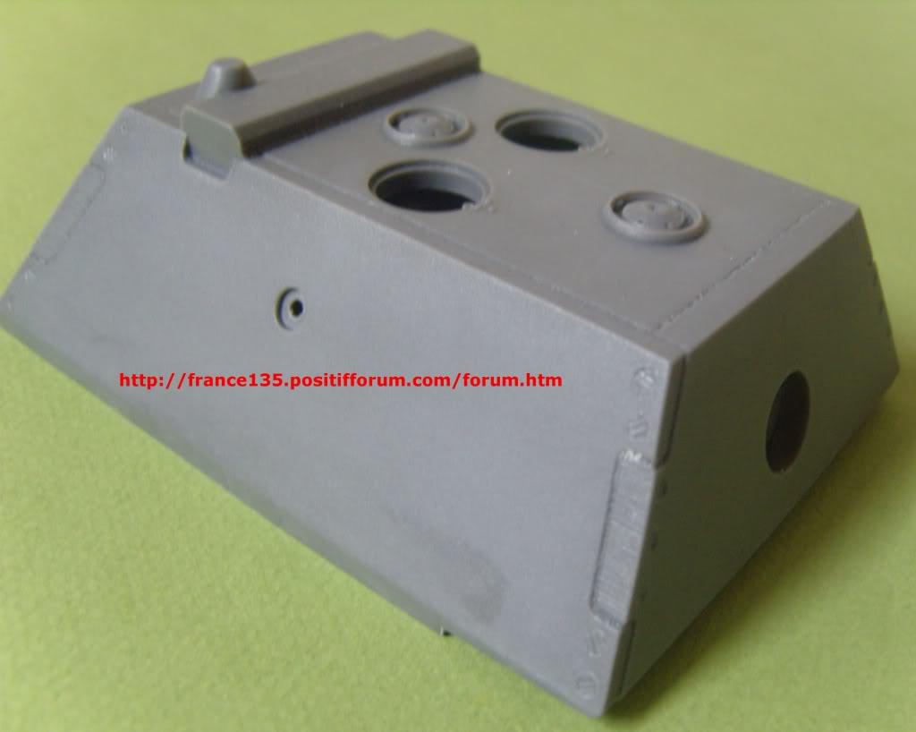 Tourelle Krupp pour E-100. Rhino Armour Models. 1/35. Conversion résine. TourelleKruppE-1001-35RAM3