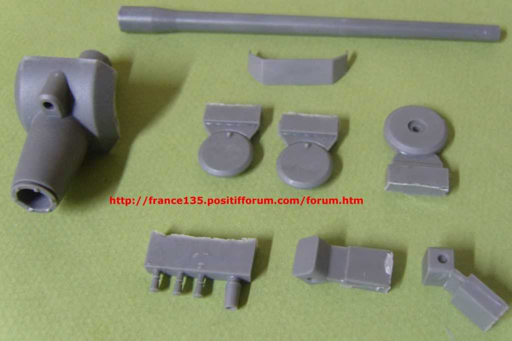 Tourelle Krupp pour E-100. Rhino Armour Models. 1/35. Conversion résine. TourelleKruppE-1001-35RAM5