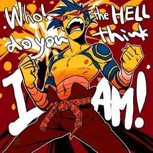 Hibari vs Mukuro - Page 2 Who_the_hell_do_you_think_I_am_by_k