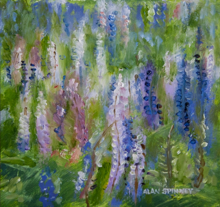Lupins. oil on panel Lupins_MG_3665fb