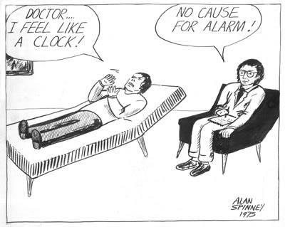 A nostalgic view Cartoonclocksm