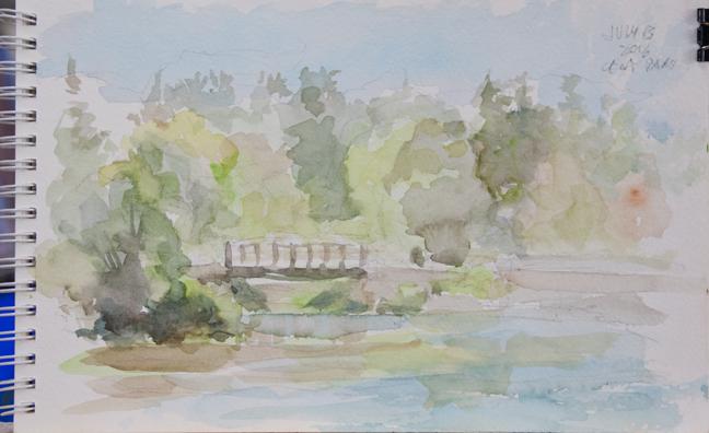 Centennial park watercolour sketches CentParkpond_MG_3869fb