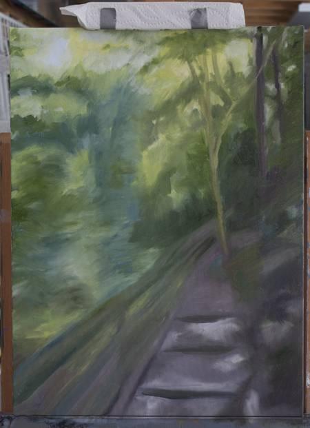 Tree lined Trail TreeTrailprog1450