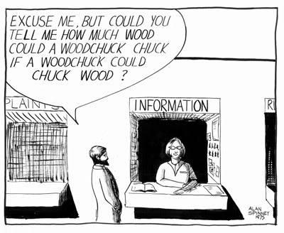 A nostalgic view Woodchucksm