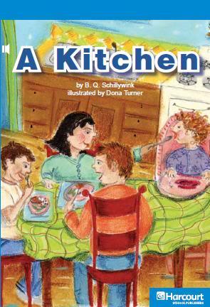 كتاب صغير لتعليمـ كلمات بعض الأشياء التي توجد بالمطبخ - A Kitchen AKitchen