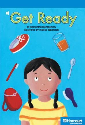كتاب صغير للاطفال لتعليمـ بعض الكلمات - Get Ready GetReady