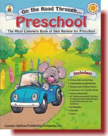 كتاب روعة   كتاب لروضة الاطفال - On the Road Through Preschoo OTRTP_C