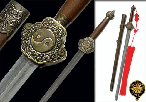 Yun && Yue Paul-chen-chinese-damascus-jian-sword