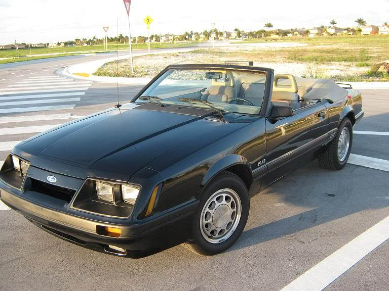 1986 Ford Mustang GT Convertible 5.0 Auto $5700 IMG_2633
