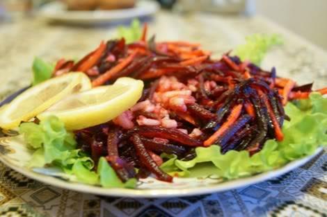 Свекольно-грушевый салат DSC05972