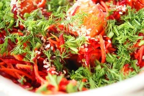 Свекольно-грушевый салат DSC06264
