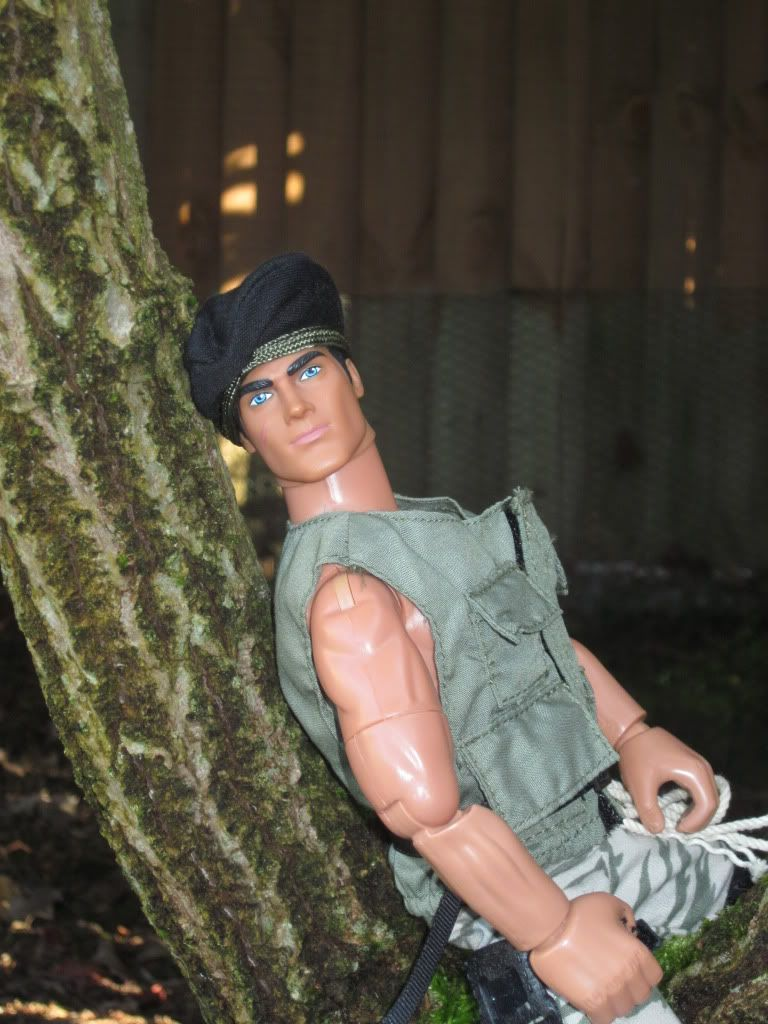 My Action Man posing in the garden    (Ackie88) IMG_1007