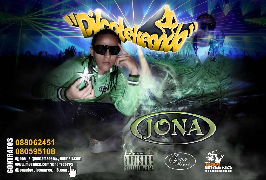 PEGATE CONMIGO - DJ JONA (JONA RECORDS) Afiche