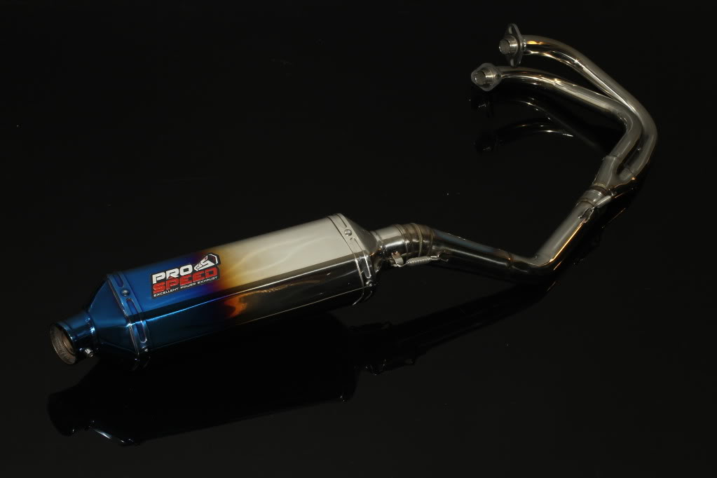 new exhaust system for ninja 250 PRO SPEED GD4F4011