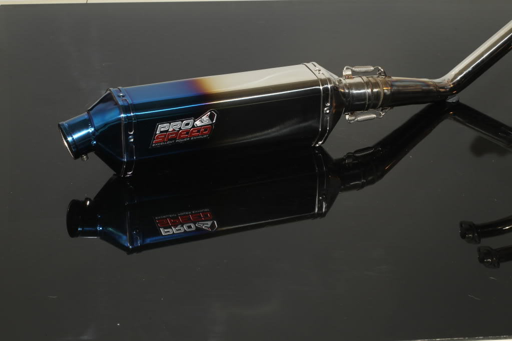 new exhaust system for ninja 250 PRO SPEED GD4F4052
