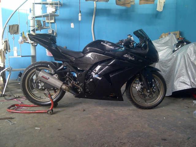 new exhaust system for ninja 250 PRO SPEED SU1HLTIwMTIwODAyLTAwMTE3LmpwZw