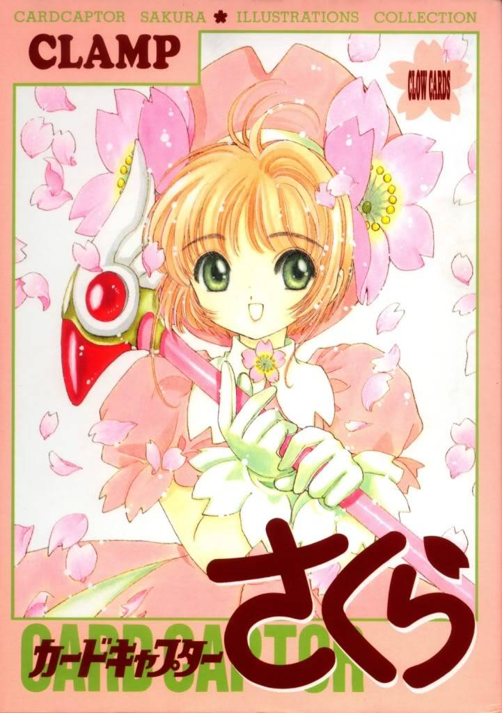[Non-DC][Artbook] Card Captor Sakura Illustrations Collection 1 001
