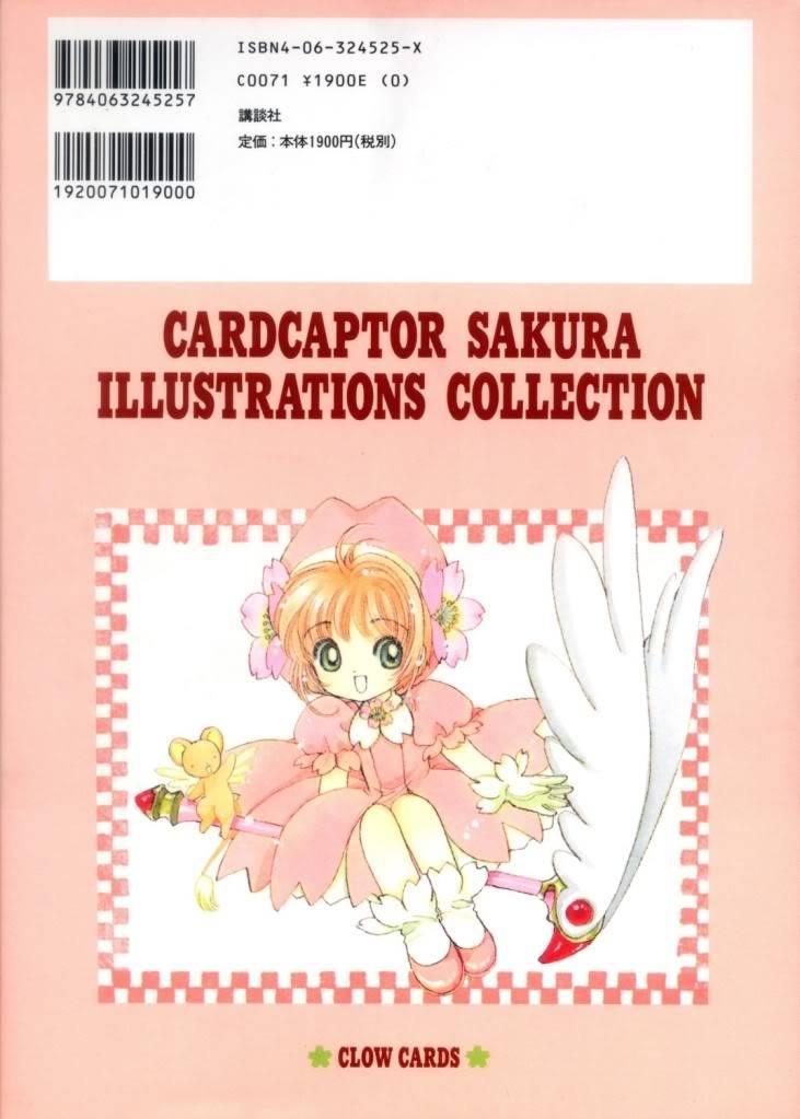 [Non-DC][Artbook] Card Captor Sakura Illustrations Collection 1 002