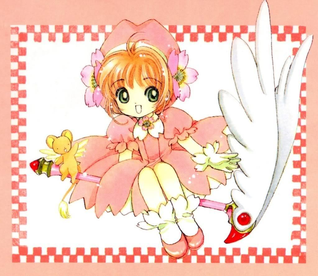 [Non-DC][Artbook] Card Captor Sakura Illustrations Collection 1 003