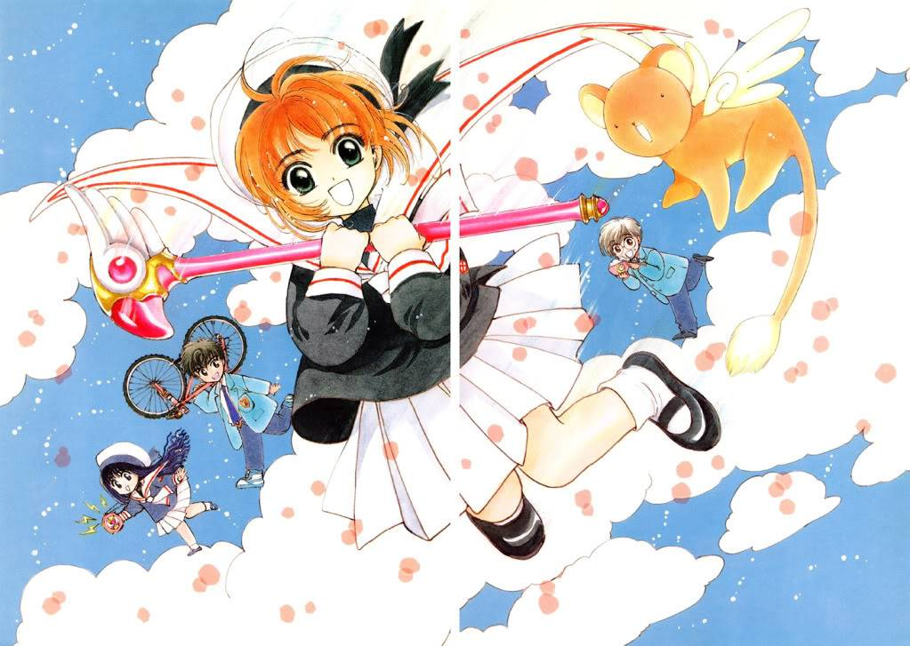 [Non-DC][Artbook] Card Captor Sakura Illustrations Collection 1 008