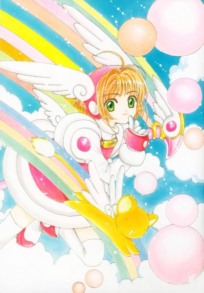 [Non-DC][Artbook] Card Captor Sakura Illustrations Collection 1 010