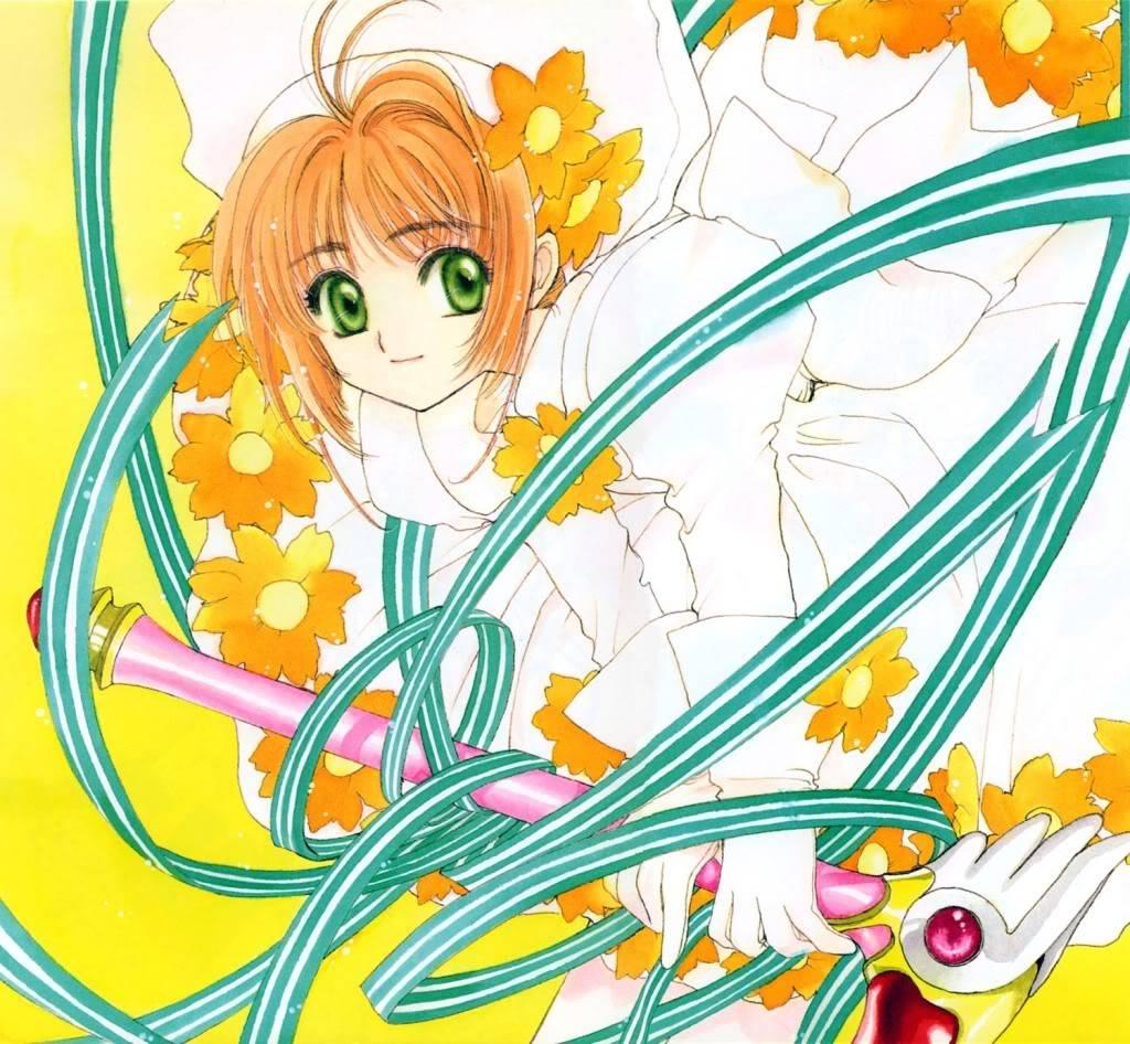 [Non-DC][Artbook] Card Captor Sakura Illustrations Collection 1 011