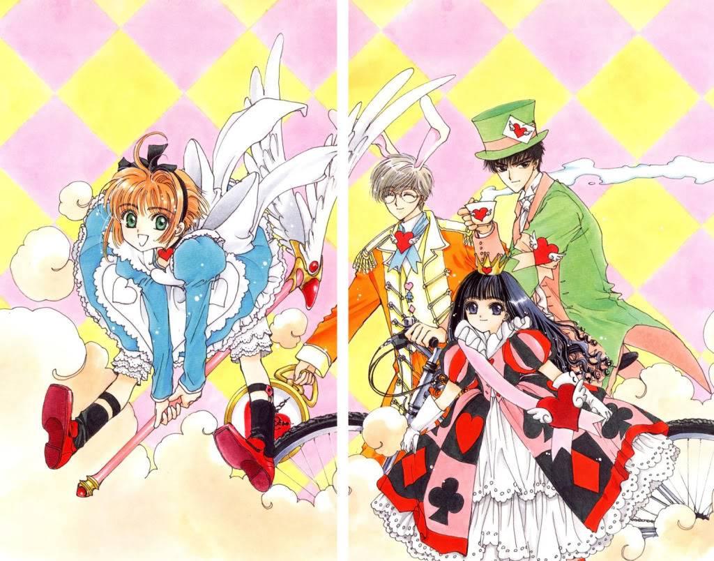 [Non-DC][Artbook] Card Captor Sakura Illustrations Collection 1 014