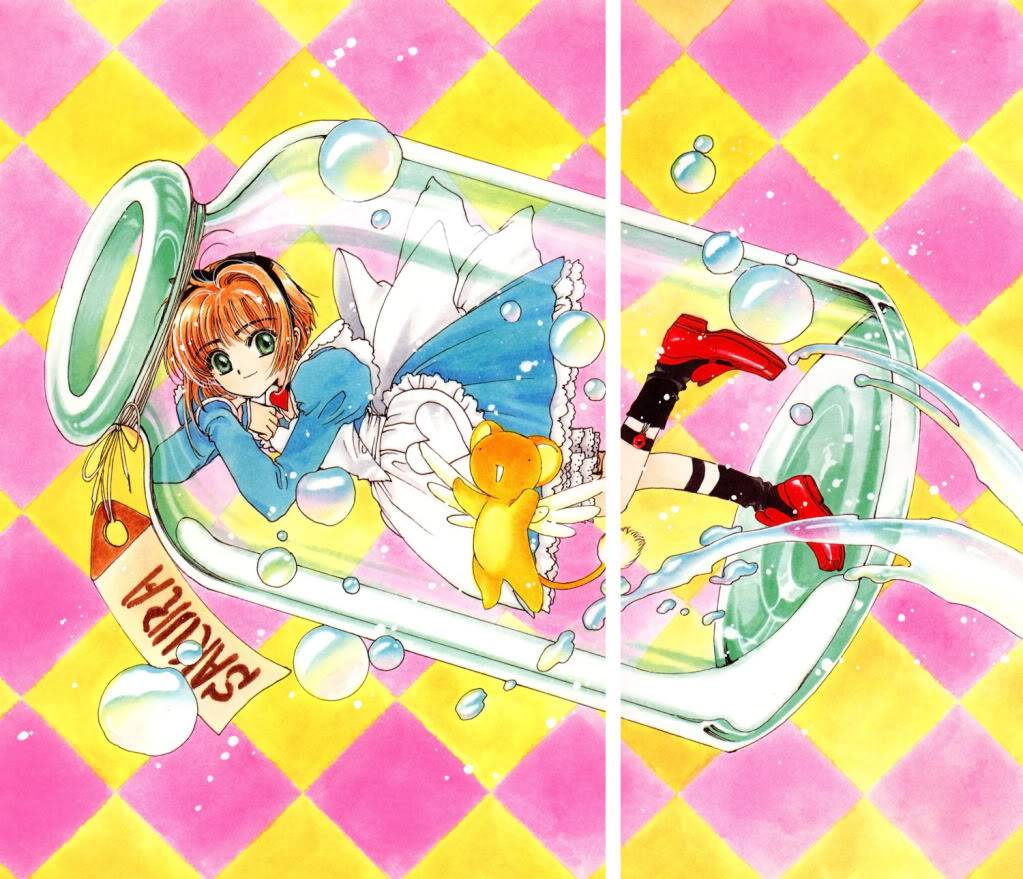 [Non-DC][Artbook] Card Captor Sakura Illustrations Collection 1 017