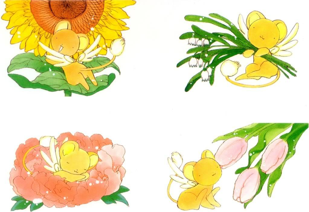 [Non-DC][Artbook] Card Captor Sakura Illustrations Collection 1 022