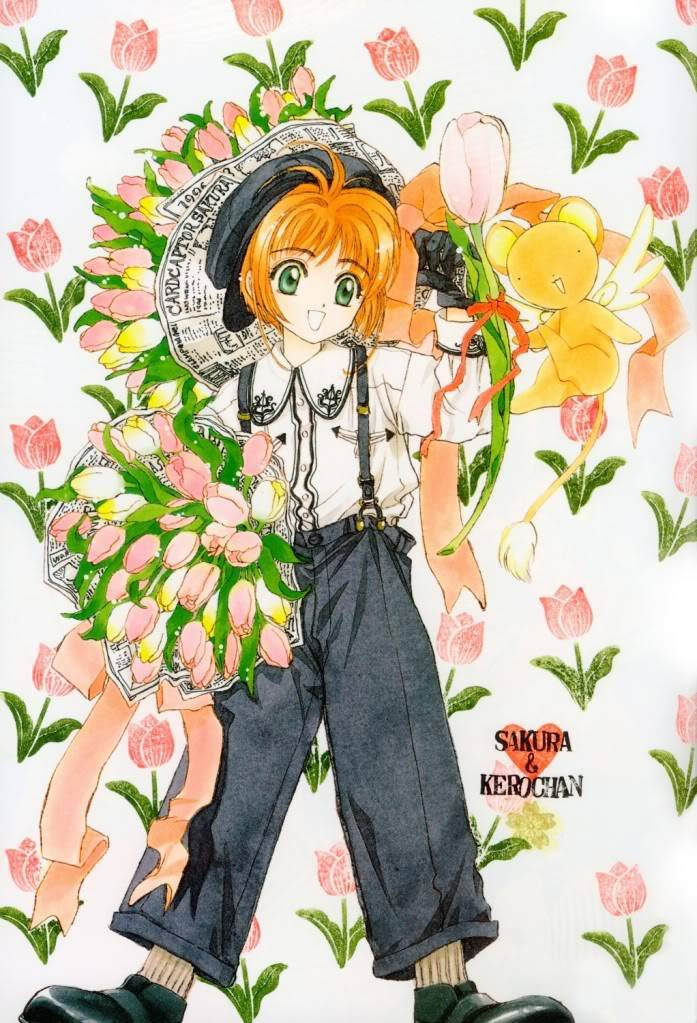 [Non-DC][Artbook] Card Captor Sakura Illustrations Collection 1 023