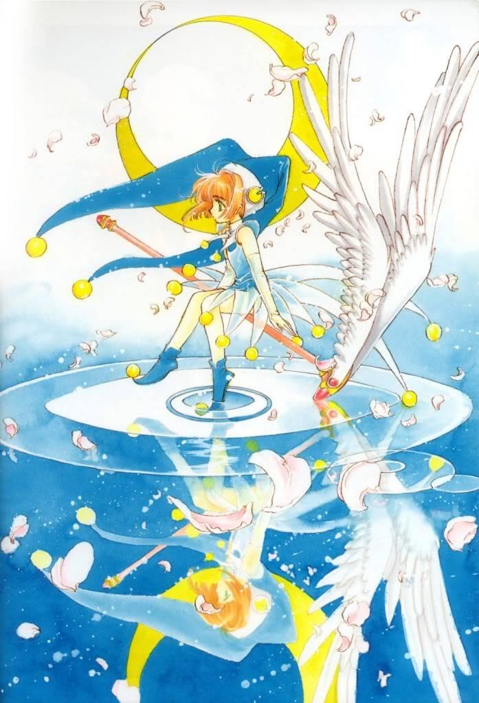 [Non-DC][Artbook] Card Captor Sakura Illustrations Collection 1 028