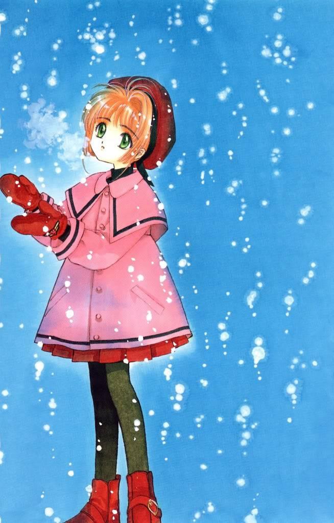 [Non-DC][Artbook] Card Captor Sakura Illustrations Collection 1 030