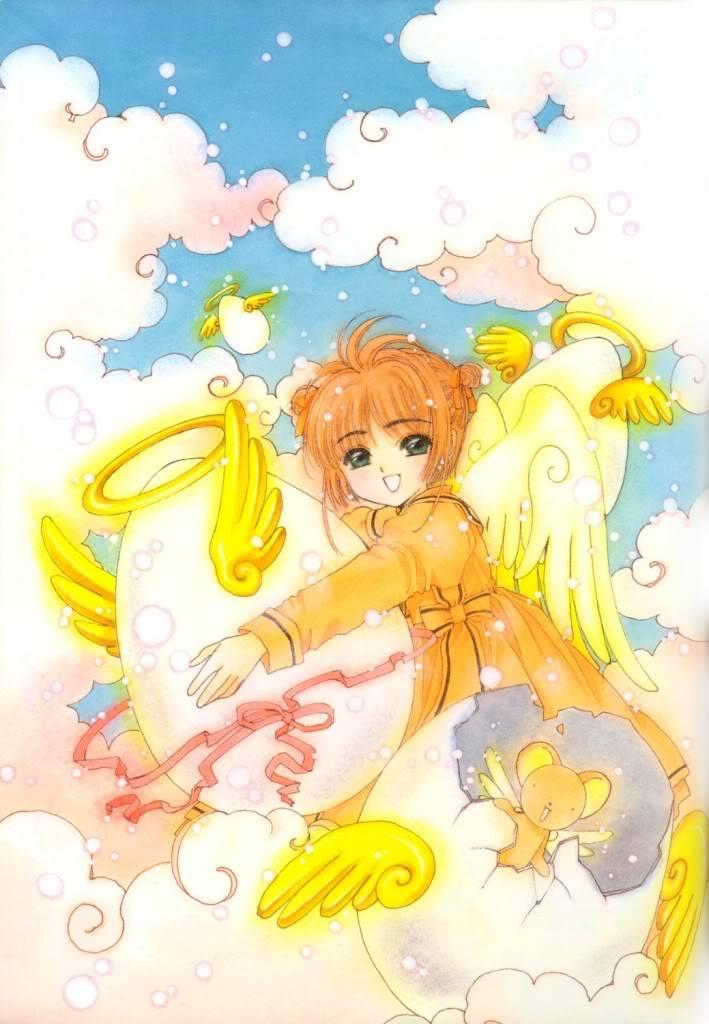 [Non-DC][Artbook] Card Captor Sakura Illustrations Collection 1 032