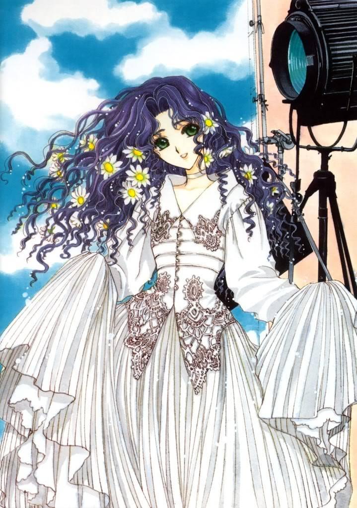 [Non-DC][Artbook] Card Captor Sakura Illustrations Collection 1 037