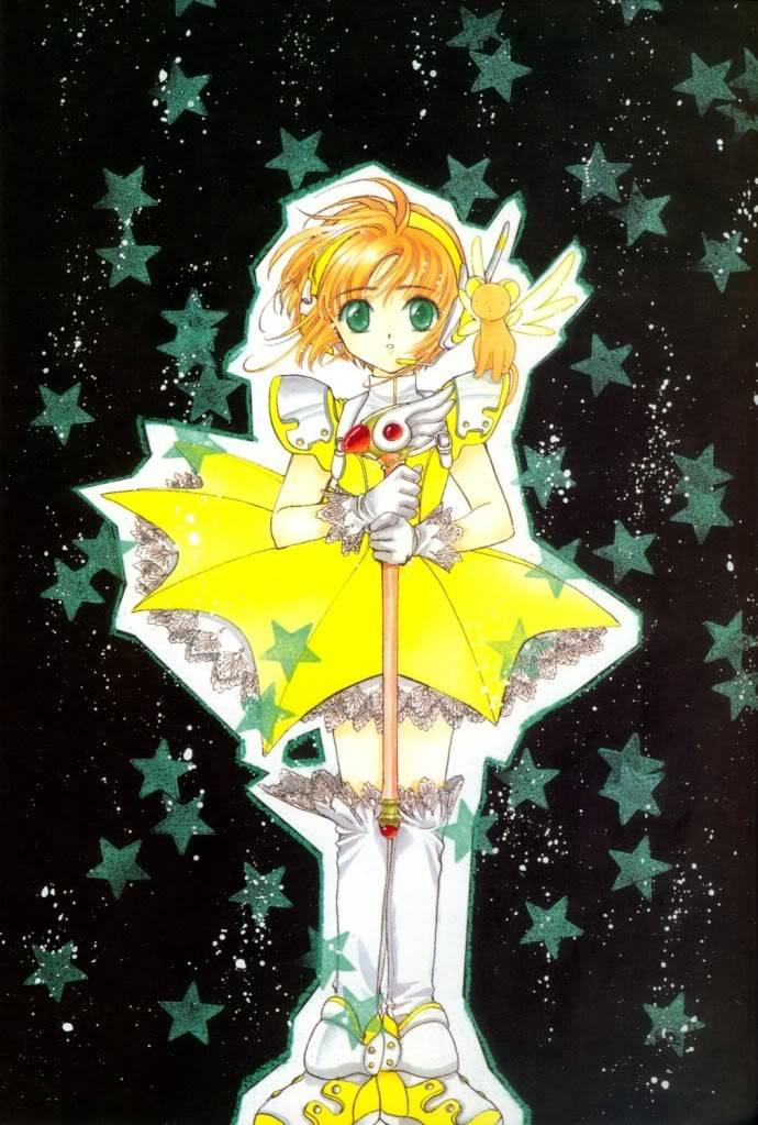 [Non-DC][Artbook] Card Captor Sakura Illustrations Collection 1 043