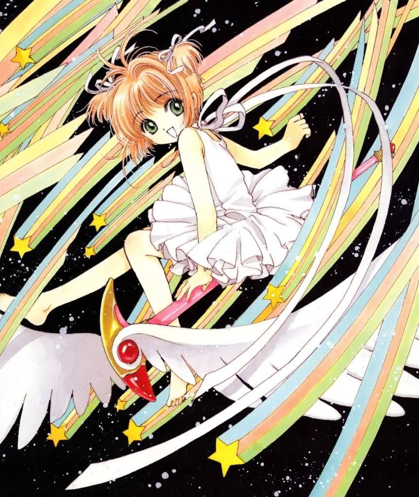 [Non-DC][Artbook] Card Captor Sakura Illustrations Collection 1 045