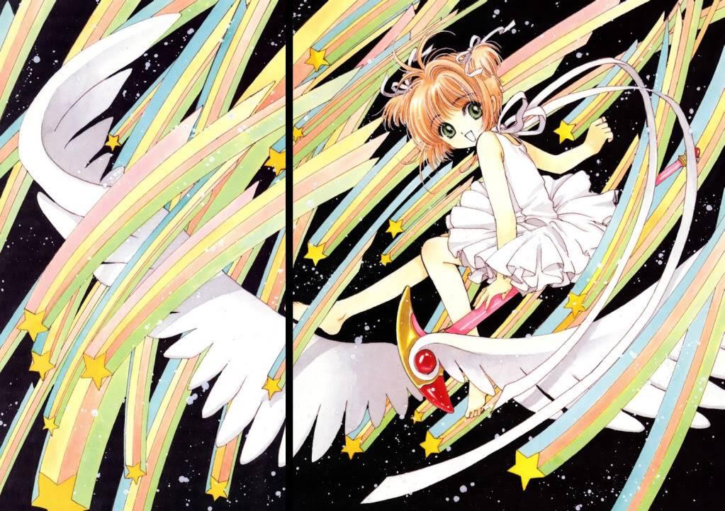 [Non-DC][Artbook] Card Captor Sakura Illustrations Collection 1 046