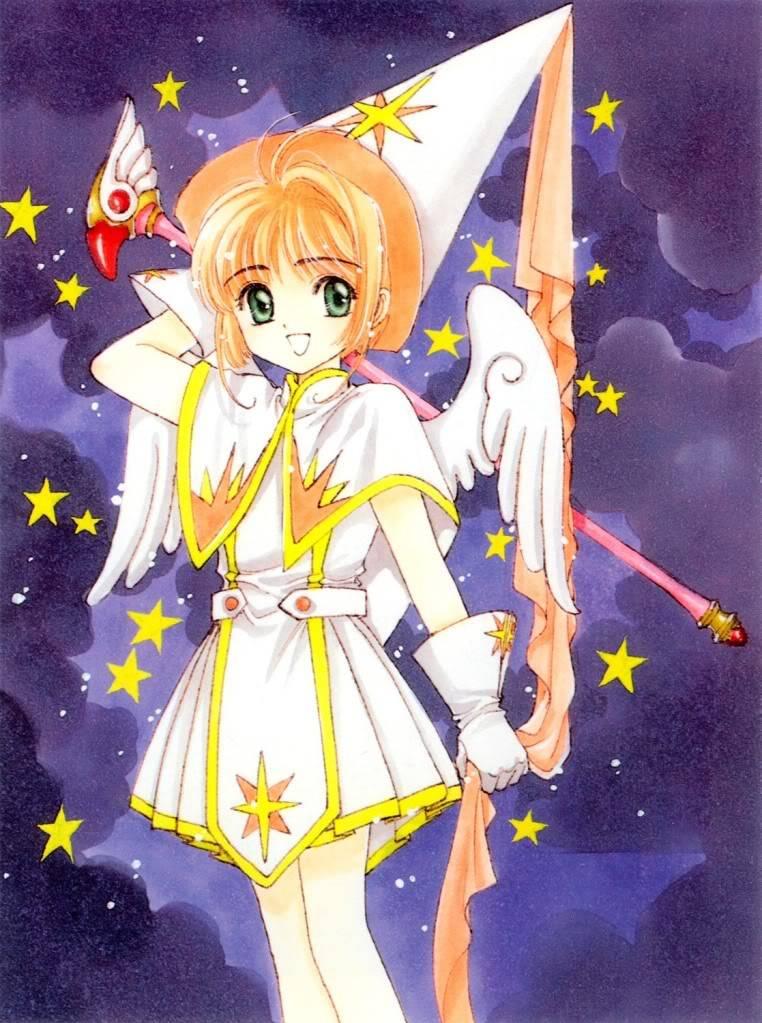 [Non-DC][Artbook] Card Captor Sakura Illustrations Collection 1 053