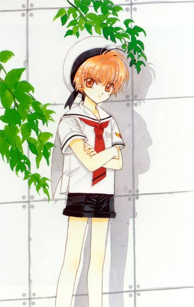 [Non-DC][Artbook] Card Captor Sakura Illustrations Collection 1 056