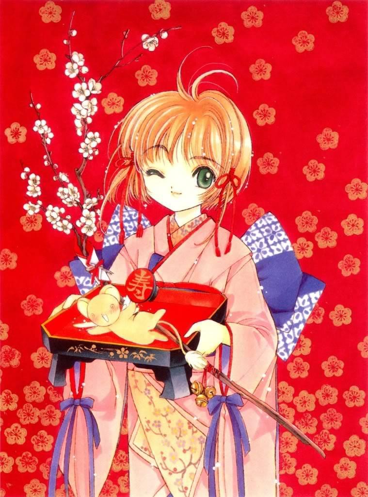 [Non-DC][Artbook] Card Captor Sakura Illustrations Collection 1 063