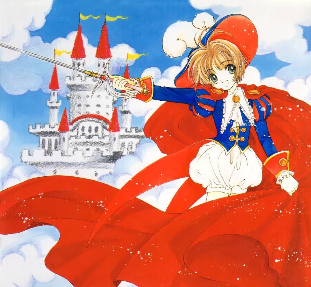 [Non-DC][Artbook] Card Captor Sakura Illustrations Collection 1 069