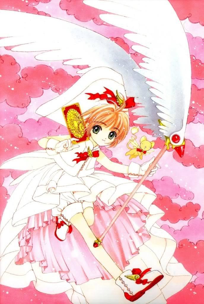 [Non-DC][Artbook] Card Captor Sakura Illustrations Collection 1 070