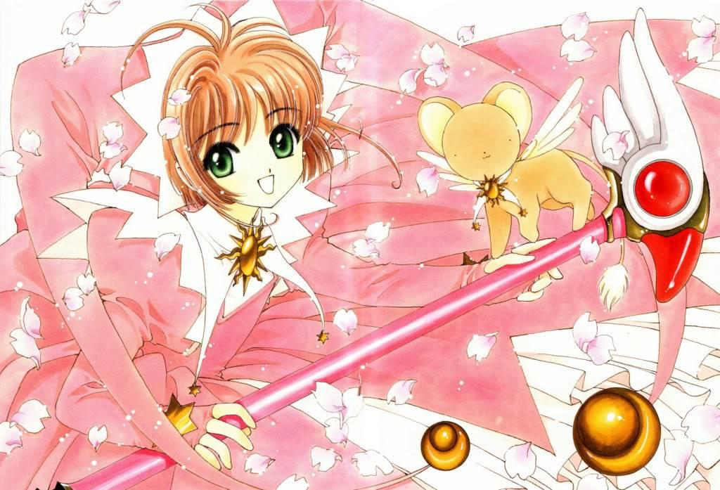 [Non-DC][Artbook] Card Captor Sakura Illustrations Collection 1 072
