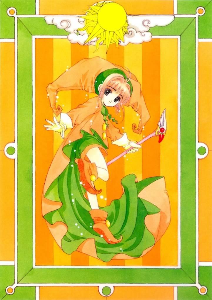 [Non-DC][Artbook] Card Captor Sakura Illustrations Collection 1 073