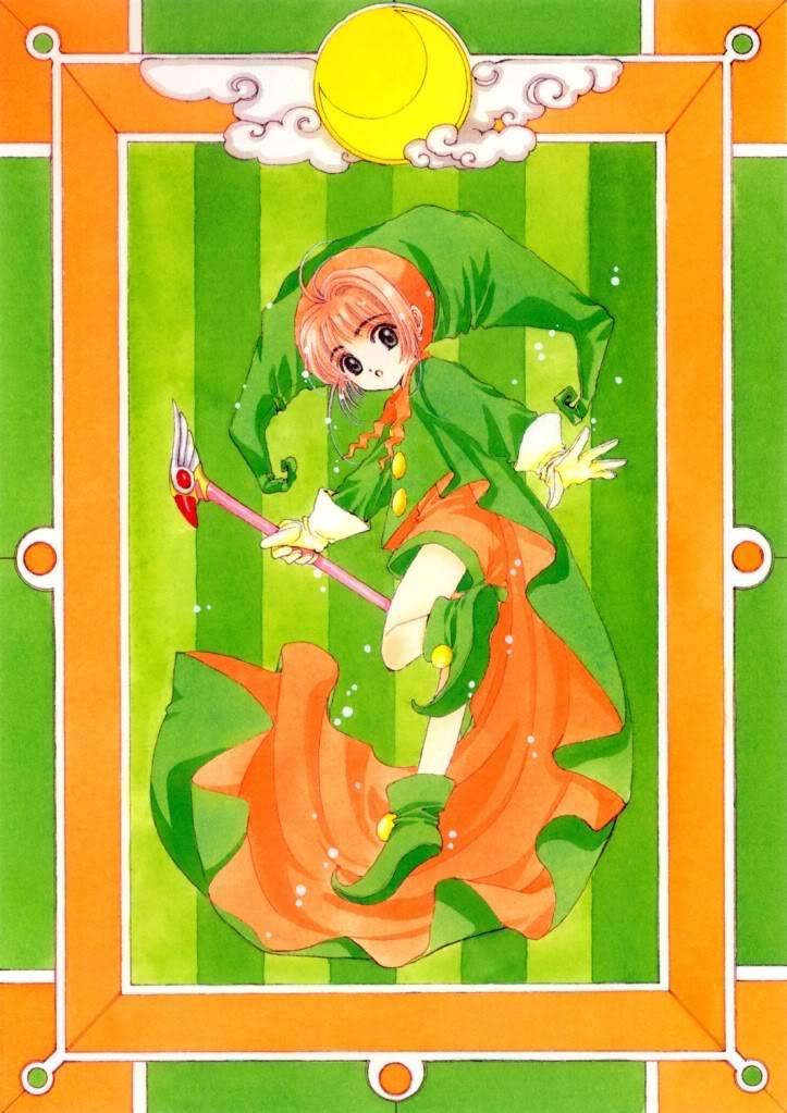 [Non-DC][Artbook] Card Captor Sakura Illustrations Collection 1 074
