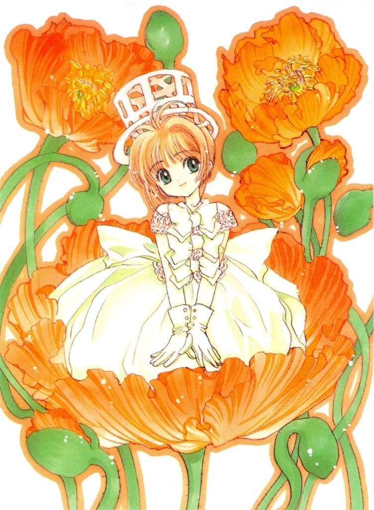 [Non-DC][Artbook] Card Captor Sakura Illustrations Collection 1 076