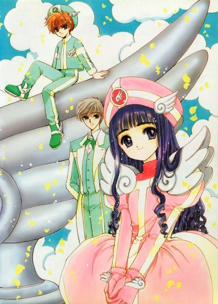 [Non-DC][Artbook] Card Captor Sakura Illustrations Collection 1 078