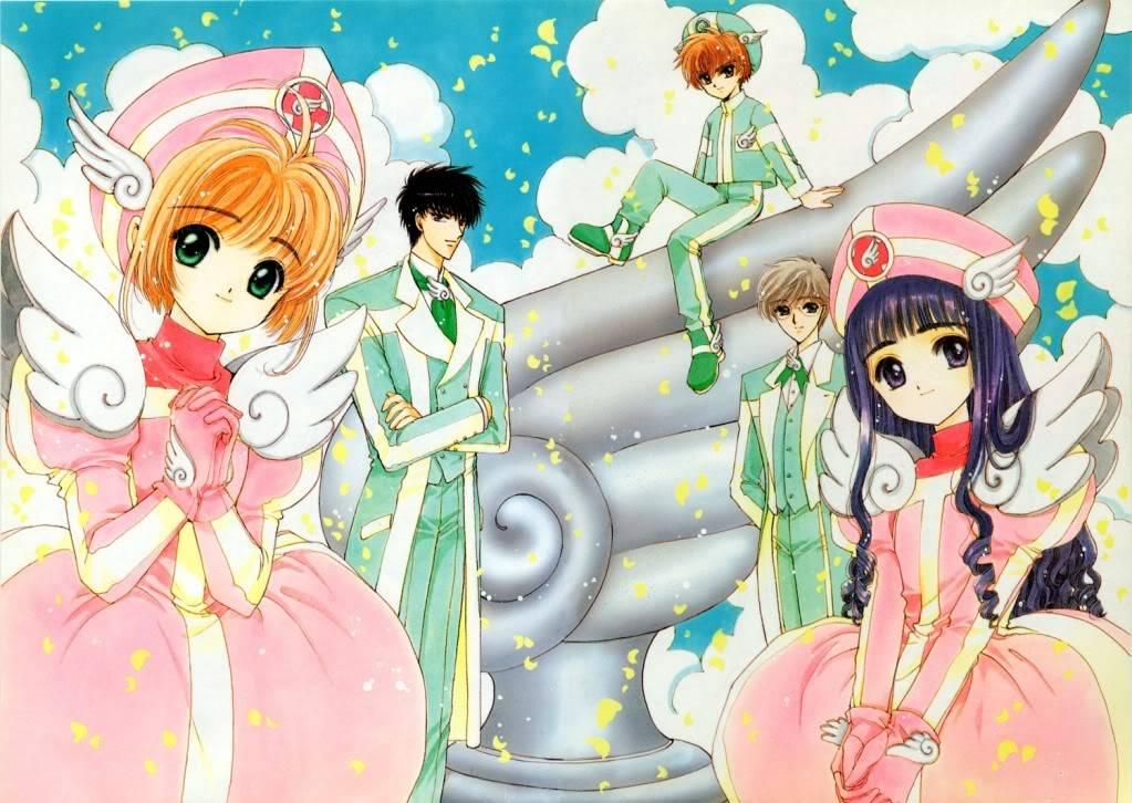 [Non-DC][Artbook] Card Captor Sakura Illustrations Collection 1 079